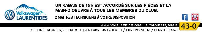 Bannière VW Laurentides