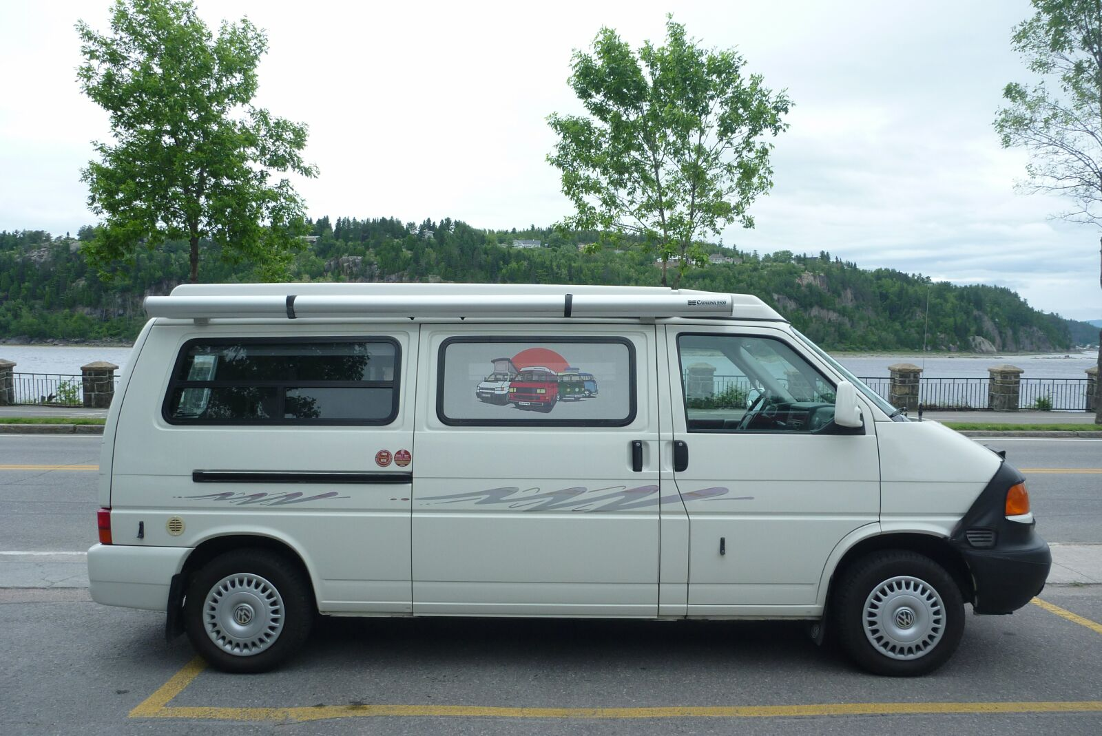 Club international de camping car westfalia for Interieur westfalia